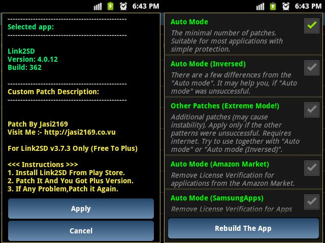 Lucky patcher screenshot